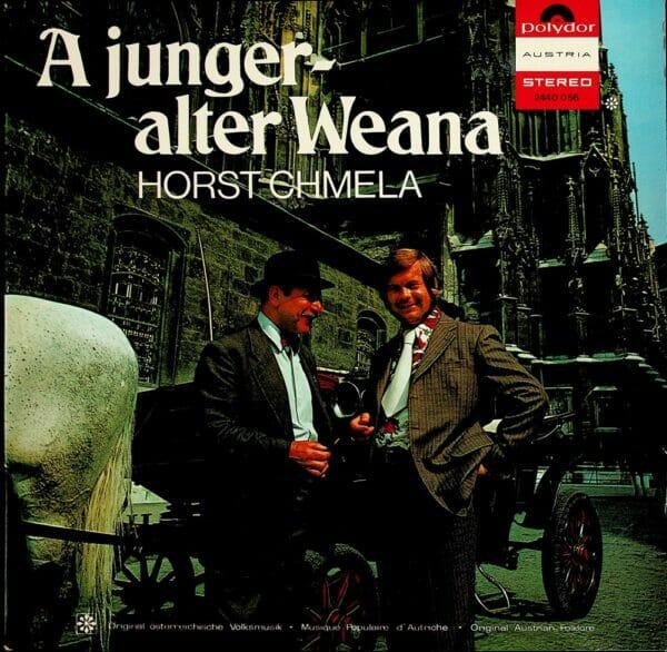 Horst Chmela, Akazie, Messing, Wienerlied, Schallplatte, Vinyl