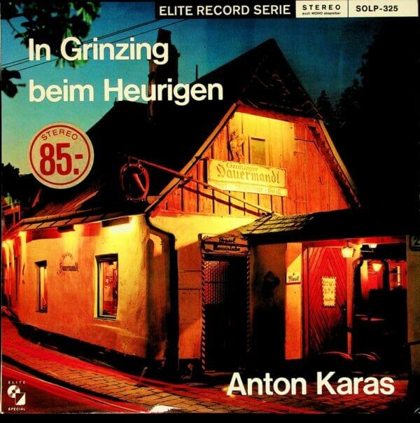 Anton Karas, Zither, Dritte Mann, 2 Rudis, Wienerlied, Schallplatte, Vinyl
