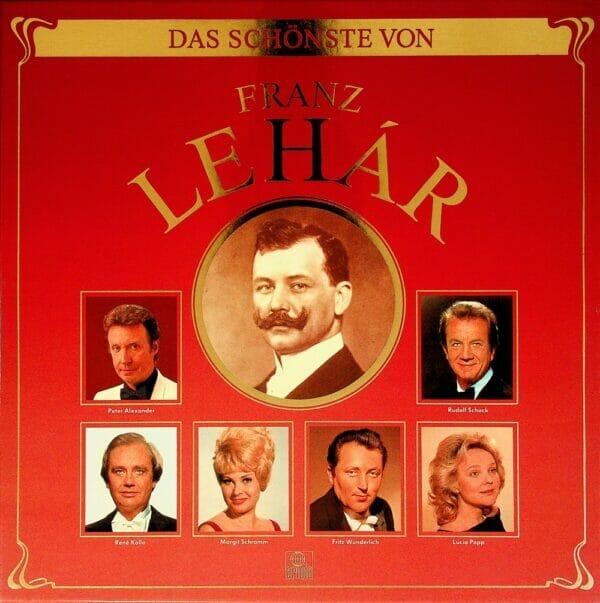 Operette, Franz Lehar, Peter Alexander, Rene Kollo, Margit Schramm, Fritz Wunderlich, Lucia Popp, Rudolf Schock, Schallplatte, Vinyl