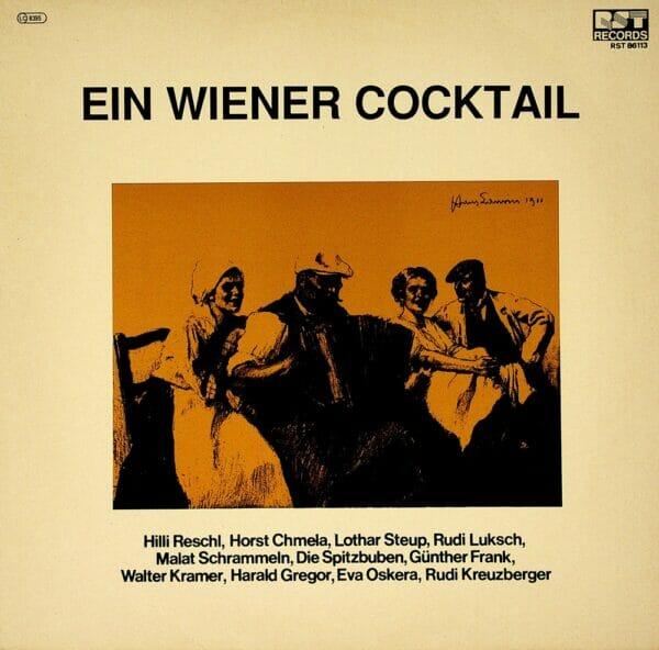 Hilli Reschl, Guenther Frank, Karl Grell, Ensemble Theo Ferstl, Herbert Seiter, Ambros Seelos Combo, Schallplatte, Vinyl, Wienerlied