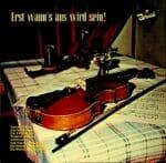 Rudi Luksch Trio, Wienerwald Schrammeln, Das Vienna Folklore Trio, Wienerlied, Schallplatte, Vinyl