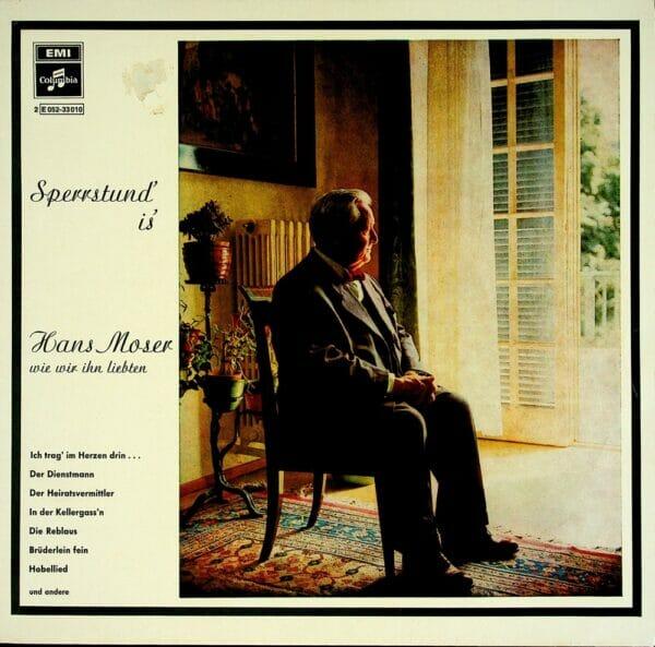 Hans Moser, Faltl-Kemmeter, Wiener Solistenorchester, Karl Grell, Wienerlied, Schallplatten, Vinyl