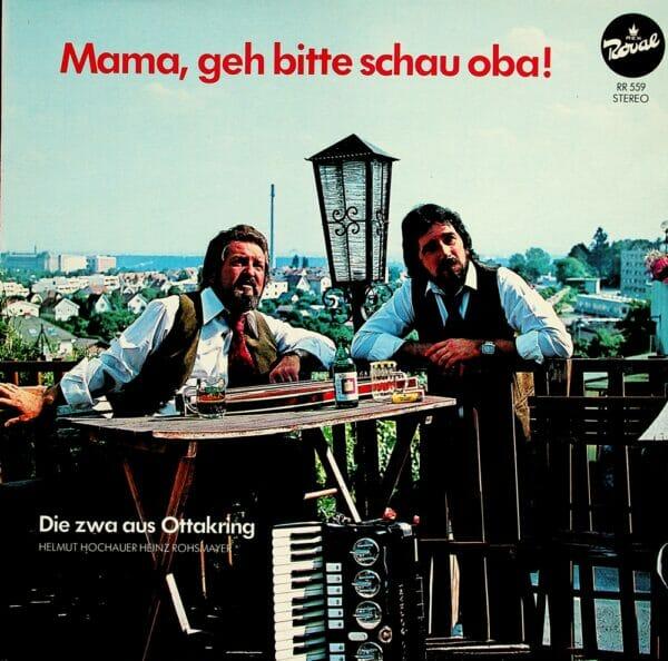 Die zwa aus Ottakring, Helmut Hochauer, Heinz Rohsmayer, Wienerlied, Schallplatte, Vinyl