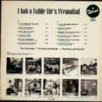 Rita Krebs, 3 Grinzinger, Belay Schrammeln, Wienerwald Quintett, Wienerlied, Schallplatte, vinyl
