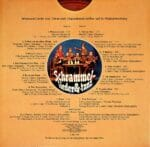 Schrammel, Johann, Josef, Kasper, Knoepferlharmonika, Kontragitarre, Klarinette, Fritz Muliar, Kurt Diemann, Wienerlied, Taenze, Schallplatte, Vinyl
