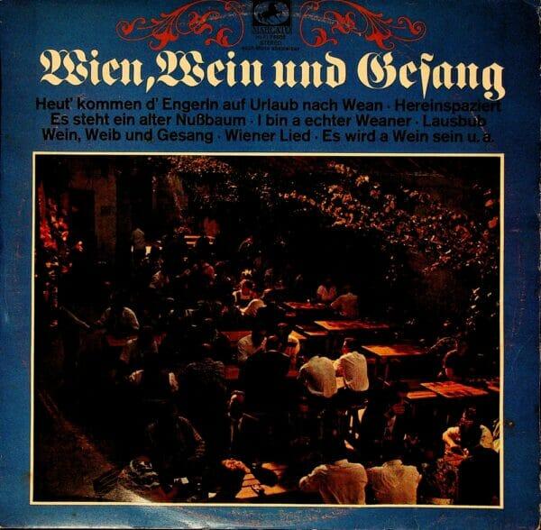 Wienerlied, traditionell, Schallplatte, Vinyl