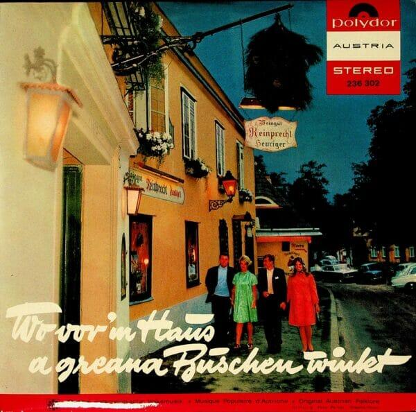 Rudolf Cral, Mueller-Steibl, Hojsa Buam, Poldi Mueller, Wienerlied, Schallplatte, Vinyl